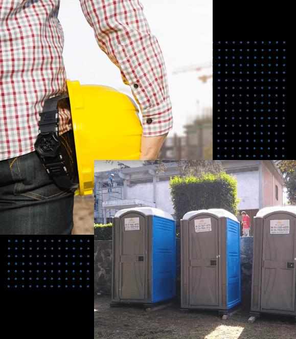 baños portátiles para obras