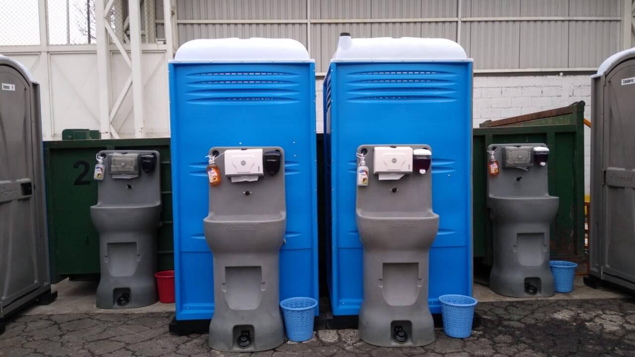 lavamanos portátiles en renta